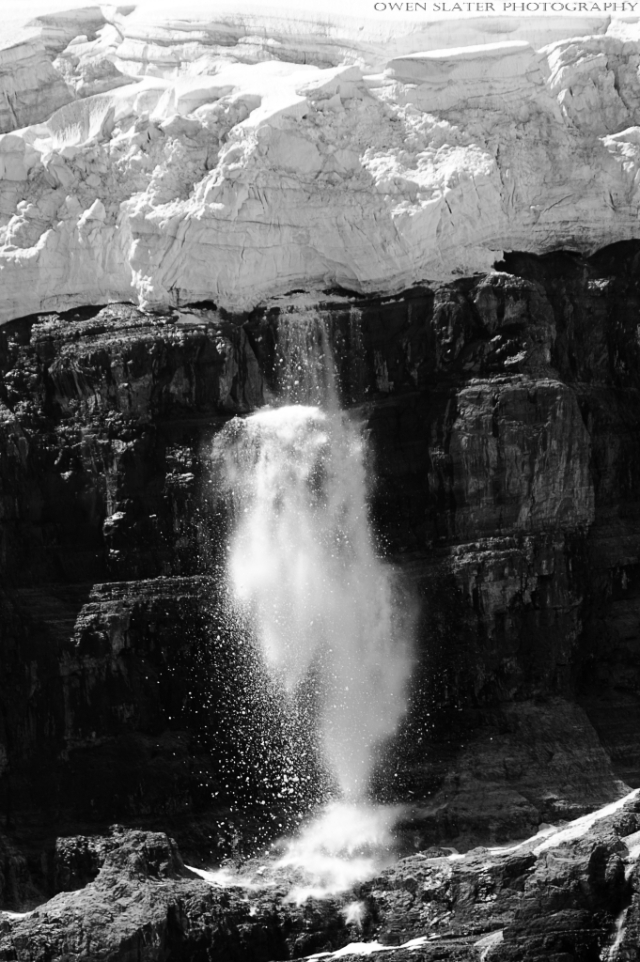 Melting away Victoria Glacier WM